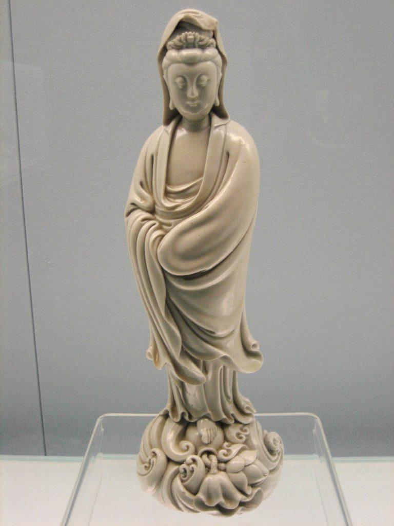 Statue of Kuan Yin, Ming Dynasty, by Chaozhong He
